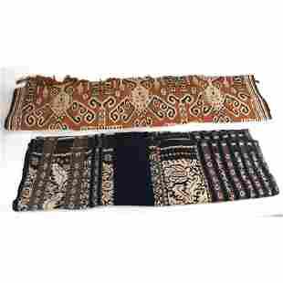Two Ethnic Textiles
