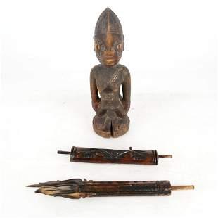 Three Tribal Objects