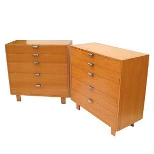 George Nelson for Herman Miller: Two Chests