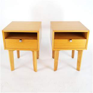 George Nelson for Herman Miller: Pair of Stands