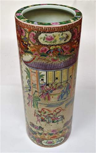 Chinese Porcelain Umbrella Stand