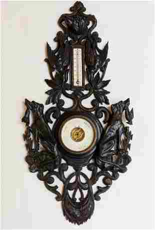 Black Forest Barometer / Thermometer