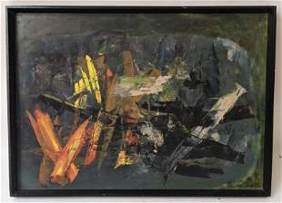 Zbigniew KUPCZYNSKI: Abstract - Oil Painting