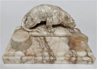 Continental Crouching Tiger Inkwell