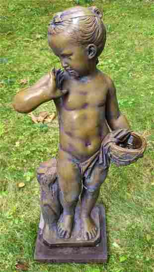 Vintage Italian Bronze Sculpture