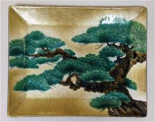 Chinese Enamel Tray