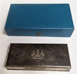 Sterling Silver Presentation Box