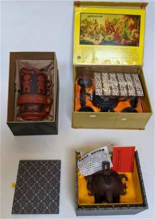 Three Boxed Items, Yixing, China
