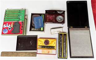 Lot Chinese Writing and Printing Items (6)