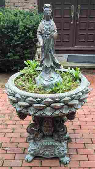 Chinese Bronze Outdoor Fountain