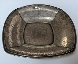 American Sterling Silver Hand Hammered Bowl