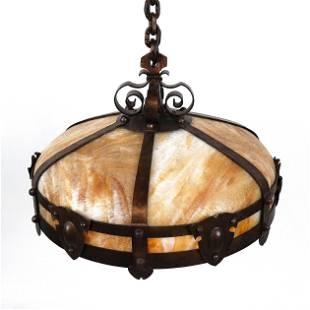 Arts & Crafts Ceiling Light Fixture