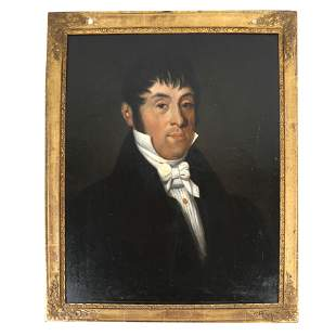 Early 19th C. Portrait of a Gentleman