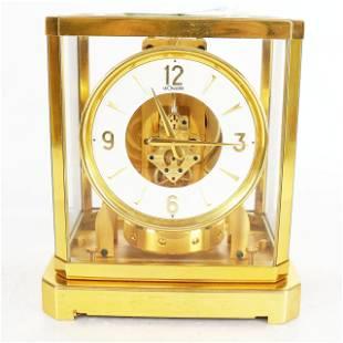 LeCoultre Brass Atmos Clock