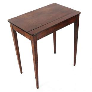 George III Mahogany Occasional Table