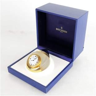 Boucheron Desk Clock In Presentation Box