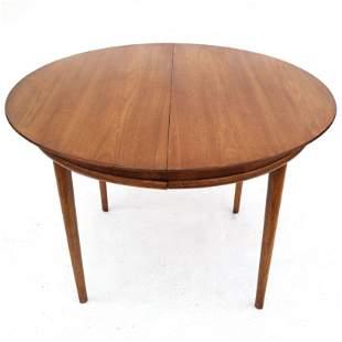 Mid-Century Modern Walnut Dining Table