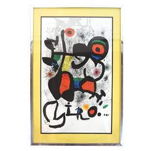 Joan MIRO: Abstract - Print on Paper