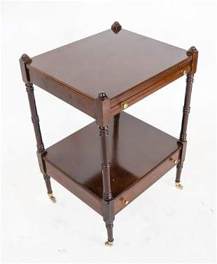 20th C. Mahogany Side Table/Stand