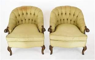 Pair of Georgian Furniture Co. Bergeres