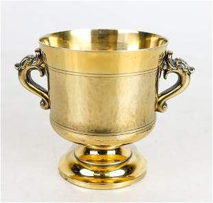 French Gilt Silver Cup
