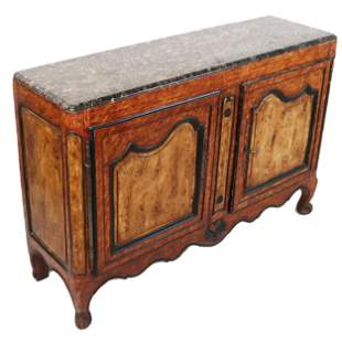 Late 18th C. Louis XV French Country Side Cabinet
