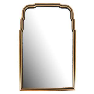 20th C. Mirror, In Shaped Frame