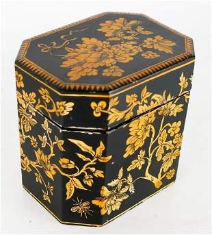 Antique English Tea Caddy