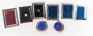 Eight Sterling Silver Picture Frames