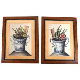 Pair of Urn Prints, After John Augustus Simson
