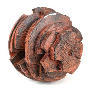 Untitled, Bolted Wood