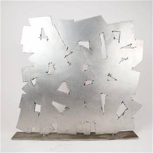 Untitled, Pierced Aluminum