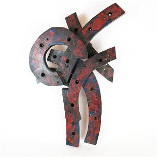 Untitled, Painted Wood.