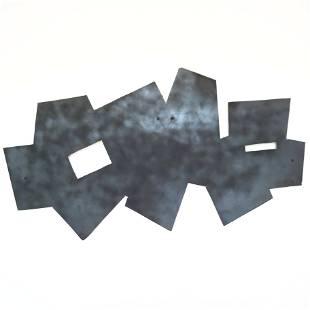 Untitled, Blacked Aluminum