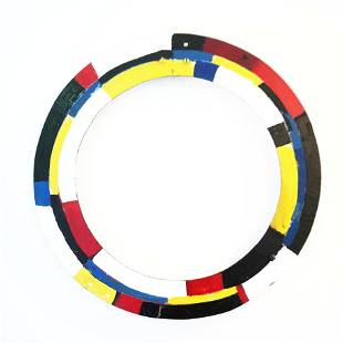 """Untitled (""""Ring"""" Series), Painted Aluminum"""