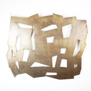 Untitled, Reticulated Aluminum