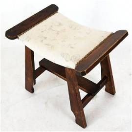 Arts & Crafts Vanity Bench