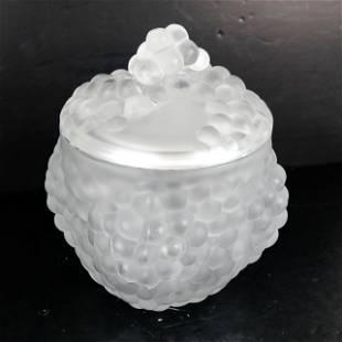 Lalique Crystal Ice Bucket
