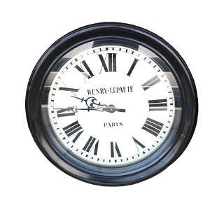 Large Henry Lepaute, Paris Wall Clock