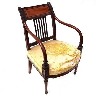 Mahogany Adam Chair