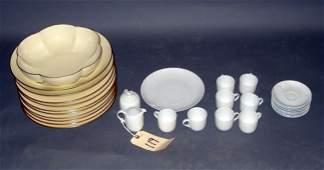 119: Two Partial Porcelain Service Sets