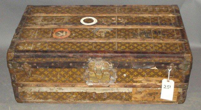 251: Louis Vuitton Steamer Trunk