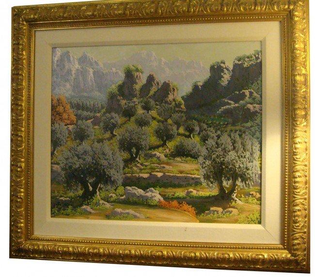 8: Oil Painting Landscape, Garcia