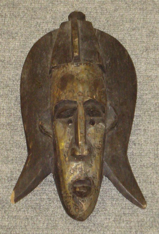 1: African Tribal Mask of a Man