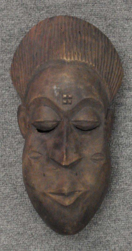 2: Tribal Mask of a Woman