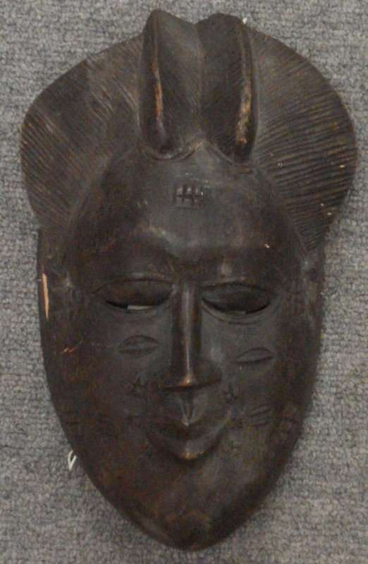 3: Tribal Mask of a Woman