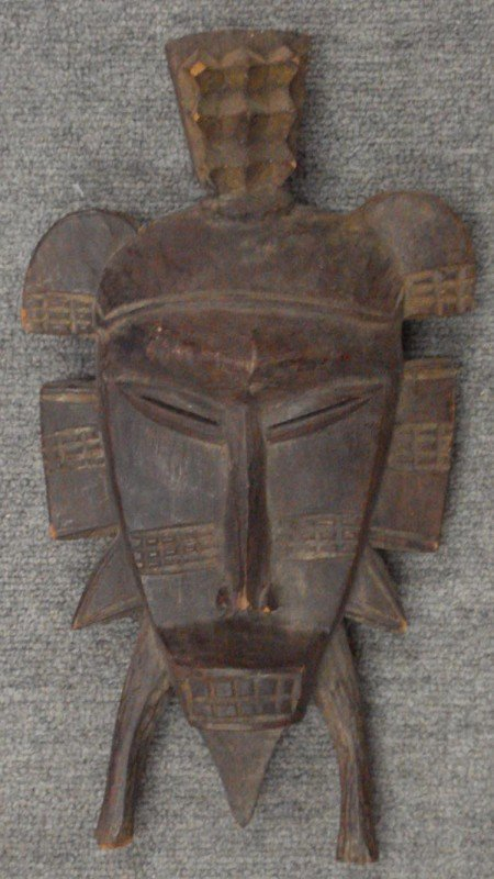 4: Tribal Mask of a God