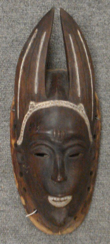 5: Rosewood Tribal Mask of a Man