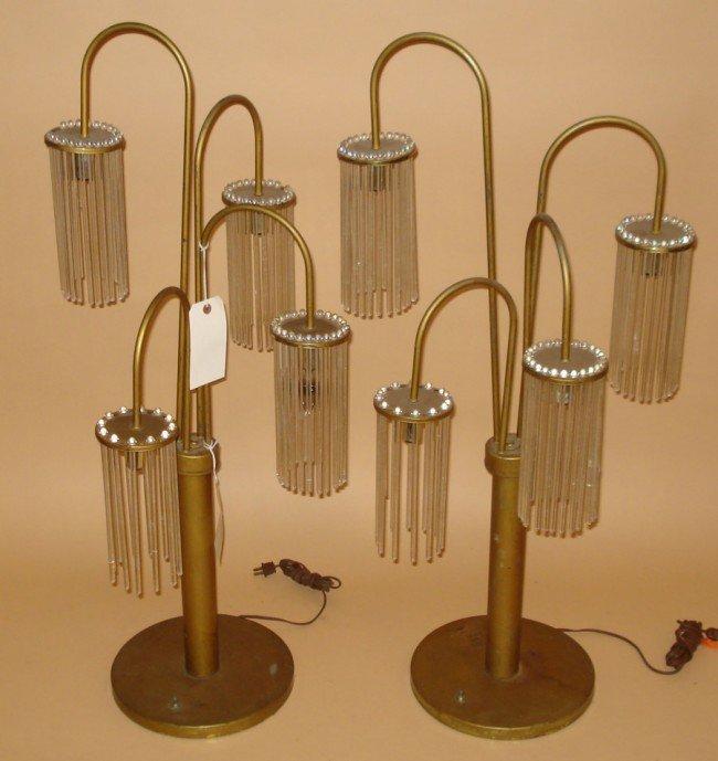 22: Pair of Modern Lamps