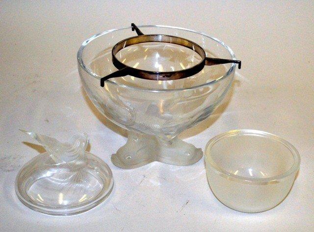 12: Lalique Caviar Bowl